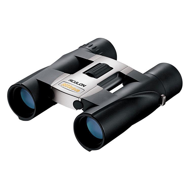 Nikon Aculon A30 10x25 Binoculars - Silver