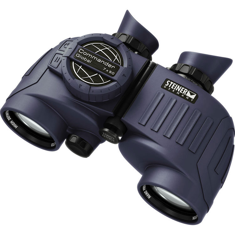 Steiner Commander Global 7x50 Binoculars With Compass