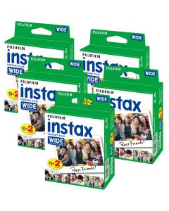Fujifilm Instax WIDE Picture Format Film TWIN Pack (100 Shots)