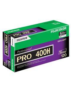 Fuji Pro 400 H 120 Roll Film (Pack of 5)