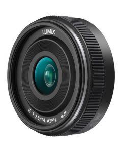 Panasonic 14mm f/2.5 Lumix G ASPH II Lens - Black