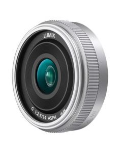 Panasonic 14mm f/2.5 Lumix G ASPH II Lens - Silver