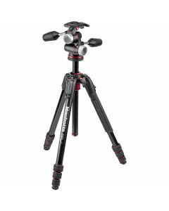 Manfrotto 190Go! Aluminium Tripod Kit with XPRO 3 Way Head