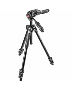 Manfrotto MK290LTA3-3W Light Tripod with 3 Way Head
