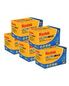 5 x Kodak UltraMax 400 Film 135 (36 Exp)