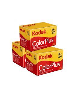 3 x Kodak ColorPlus 200 Film Pack 135 (36 Exposures)