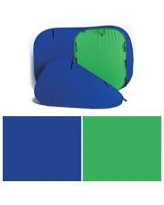 Lastolite 5687 Chromakey Collapsible Reversible (1.5 x 1.8m) - Blue/Green