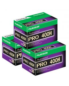 3 x Fuji Pro 400 H Film Pack 135 (36 Exposures)