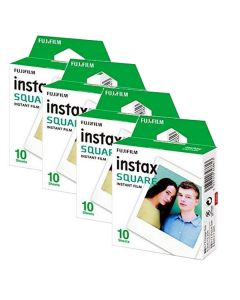 Fujifilm Instax SQUARE Instant Film BUNDLE PACK (40 Shots)