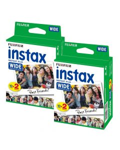 Fujifilm Instax WIDE Picture Format Film Bundle Pack (40 Shots)
