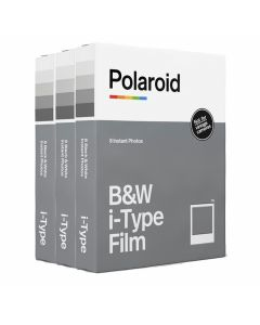 Polaroid Originals I-Type B&W Film TRIPLE Pack (24 Shots)