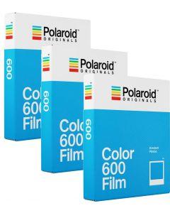 Polaroid Originals 600 Color Film TRIPLE Pack (24 Shots)