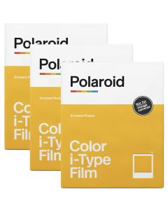 Polaroid Originals I-Type Color Film TRIPLE Pack (24 Shots)