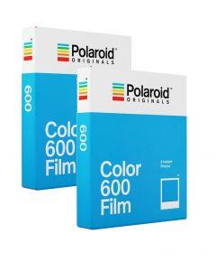 Polaroid Originals 600 Color Film TWIN Pack (16 Shots)