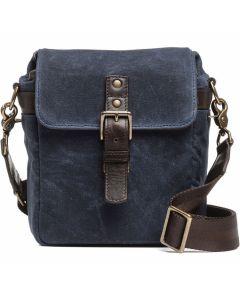 ONA Bond Street Waxed Canvas Camera Bag - Oxford Blue