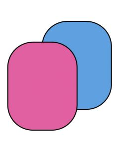 Lastolite 6751 Chromakey Collapsible (1.8m x 2.15m) - Blue/Pink
