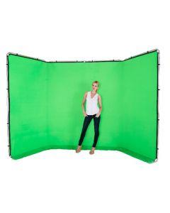 Lastolite 7622 Panoramic Background (4m) - Chromakey Green