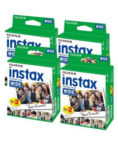 Fujifilm Instax WIDE Picture Format Film TWIN Pack (80 Shots)