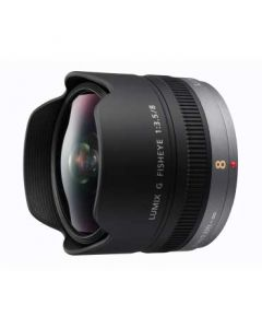 Panasonic H-F008E 8mm Micro 4/3rds Fisheye Lens