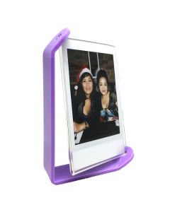 Acrylic Photo Frame for Fujifilm Instax Mini Film (Purple)