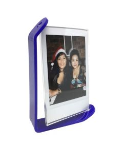 Acrylic Photo Frame for Fujifilm Instax Mini Film (Royal Blue)