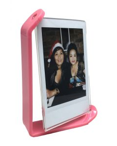 Acrylic Photo Frame for Fujifilm Instax Mini Film (Pink)