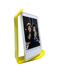 Acrylic Photo Frame for Fujifilm Instax Mini Film (Yellow)