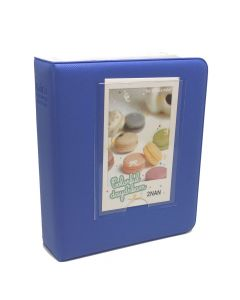 64 Pocket Album for Fujifilm Instax Mini Film - Cobalt Blue