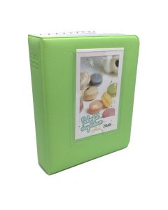 64 Pocket Album for Fujifilm Instax Mini Film - Lime Green