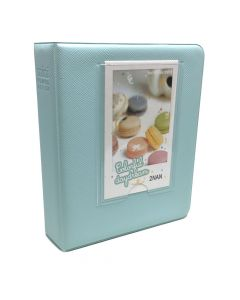 64 Pocket Album for Fujifilm Instax Mini Film - Ice Blue