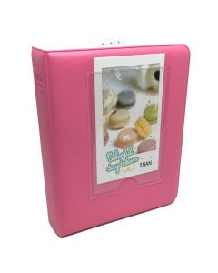 64 Pocket Album for Fujifilm Instax Mini Film - Flamingo Pink