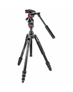 Manfrotto Befree Live Twist-Lock Tripod Kit with Fluid Head