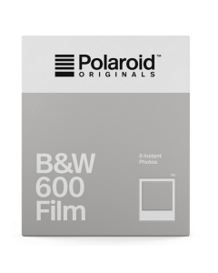 Polaroid Originals 600 B&W Film Pack (8 Shots)