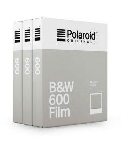 Polaroid Originals 600 B&W Film TRIPLE Pack (24 Shots)