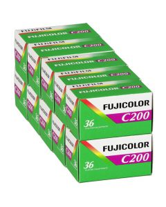 10 x Fuji Fujicolor C200 Film Pack 135 (36 Exposures)