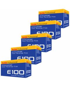 5 x Kodak Ektachrome Professional E100 (36 Exp)
