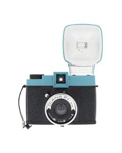 Lomography Diana F+ Medium Format Camera with Flash (Blue/Black)