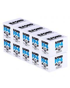 10 x Ilford FP4 Plus 35mm film (24 exposure)