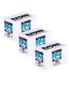3 x Ilford FP4 Plus 35mm film (36 exposure)