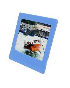 Square Photo Frame for Fujifilm Instax SQUARE Film (Blue)