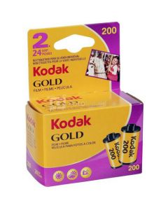 2 x Kodak Gold 200 Film Pack 135 (24 Exposures)