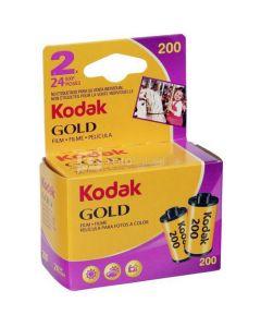 2 x Kodak Gold 200 Film Pack 135 (24 Exposures)