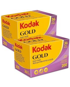 2 x Kodak Gold 200 Film Pack 135 (36 Exposures)