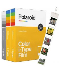 Polaroid Originals I-Type Color Film TRIPLE Pack (24 Shots)