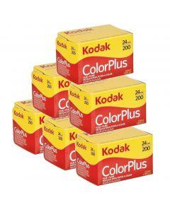 6 x Kodak ColorPlus 200 Film Pack 135 (24 Exposures)