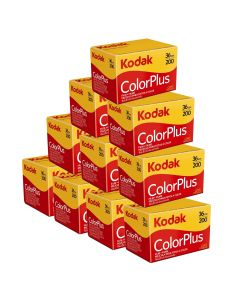 10 x Kodak ColorPlus 200 Film Pack 135 (36 Exposures)