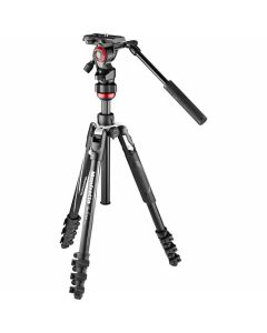 Manfrotto Befree Live Lever-Lock Tripod Kit with Fluid Head
