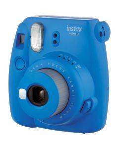 Fujifilm Instax Mini 9 Instant Camera with 10 Shots - Cobalt Blue