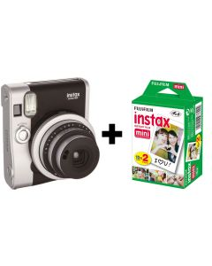 Fujifilm Instax Mini 90 NEO Classic Camera Bundle with 20 Shots