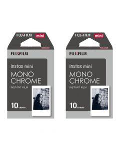Fujifilm Instax Mini MONOCHROME Film TWIN PACK (20 Shots)
